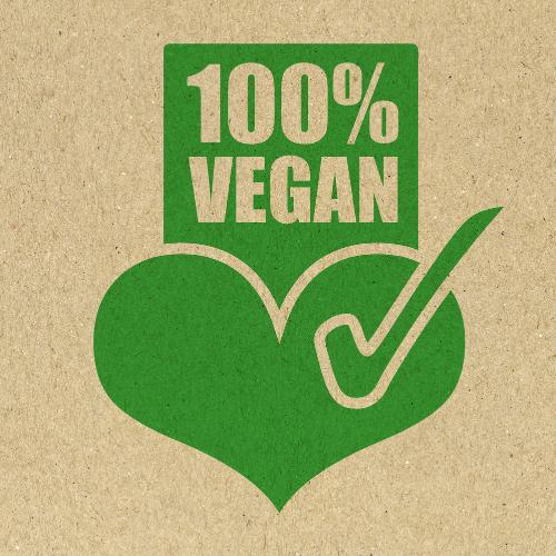 100 Percent vegan